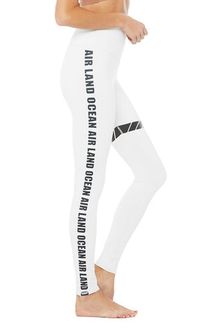 Hw Airbrush Legging-White