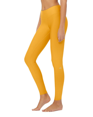 High Waist Airlift Legging- Tuscan Sun