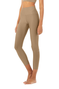 7/8 High Waist Airlift Legging- Gravel