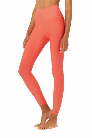 7/8 High Waist Airlift Legging- Strawberry