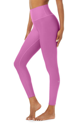 7/8 High Waist Airlift Legging- Electric Violet