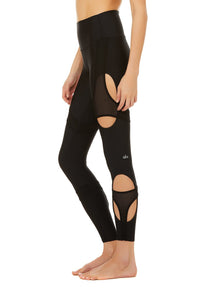 High Waist Arch Legging- Black