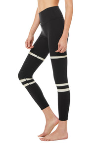 High Waist Legit Legging- Black - Bone
