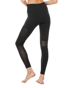 High Waist Impact Legging- Black
