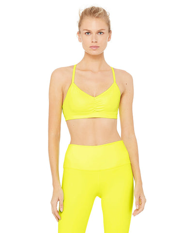 Sunny Strappy Bra - Highlighter Glossy