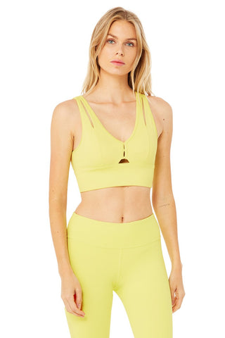 United Long Bra - Shock Yellow