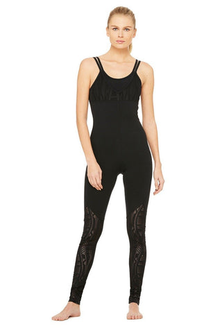 Siren Unitard Black