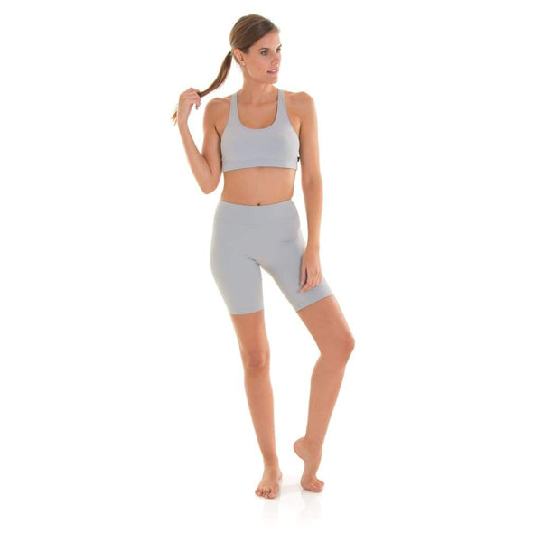 Basic Racer Back Eco Bra Light Grey