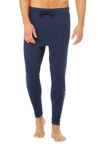 Alo Yoga The Triumph Sweatpant - Navy Triblend