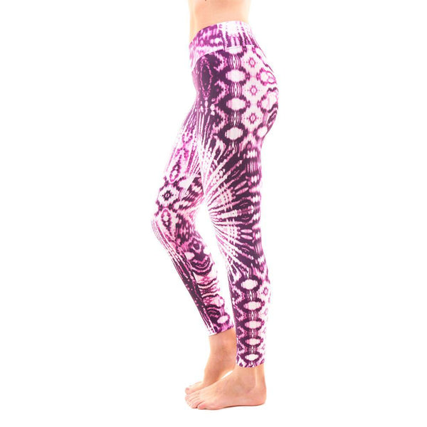 Liquido Active Patterned Yoga Legging Oxford