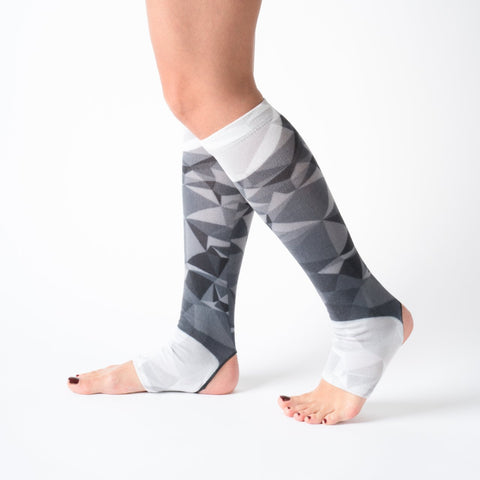Yoga / Pilates Çorap Knee Black