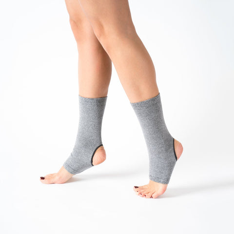 Yoga / Pilates Çorap Ankle Grey