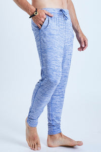 Dharma Yoga Pants Blue