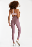 TOO GOOD TO BE TRUE LEGGINGS/ LILAC