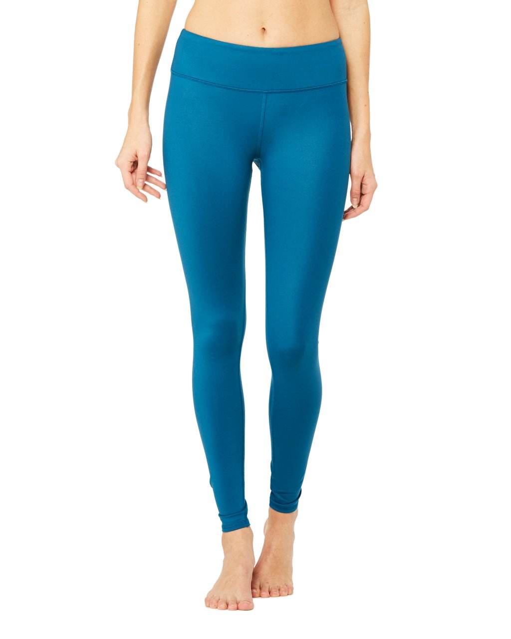 Alo Yoga Airbrush Legging - Legion Blue Glossy