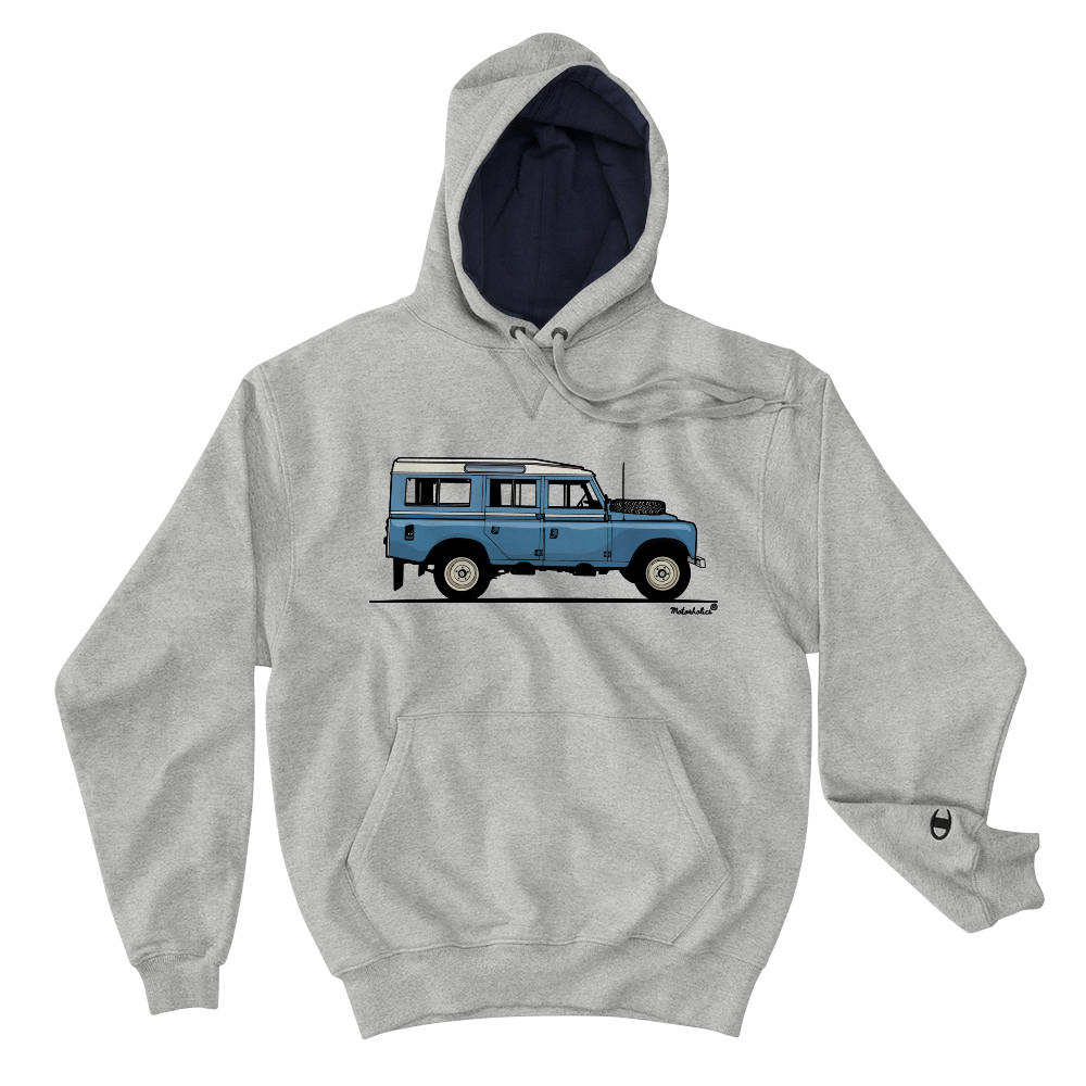 Champion x Motorholics Land Rover Series III Hooded Sweatshirt