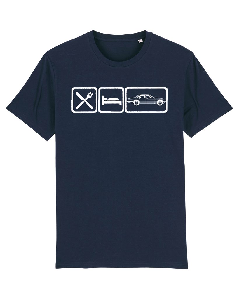 Eat Sleep Jaguar XJ6 - Navy, XL