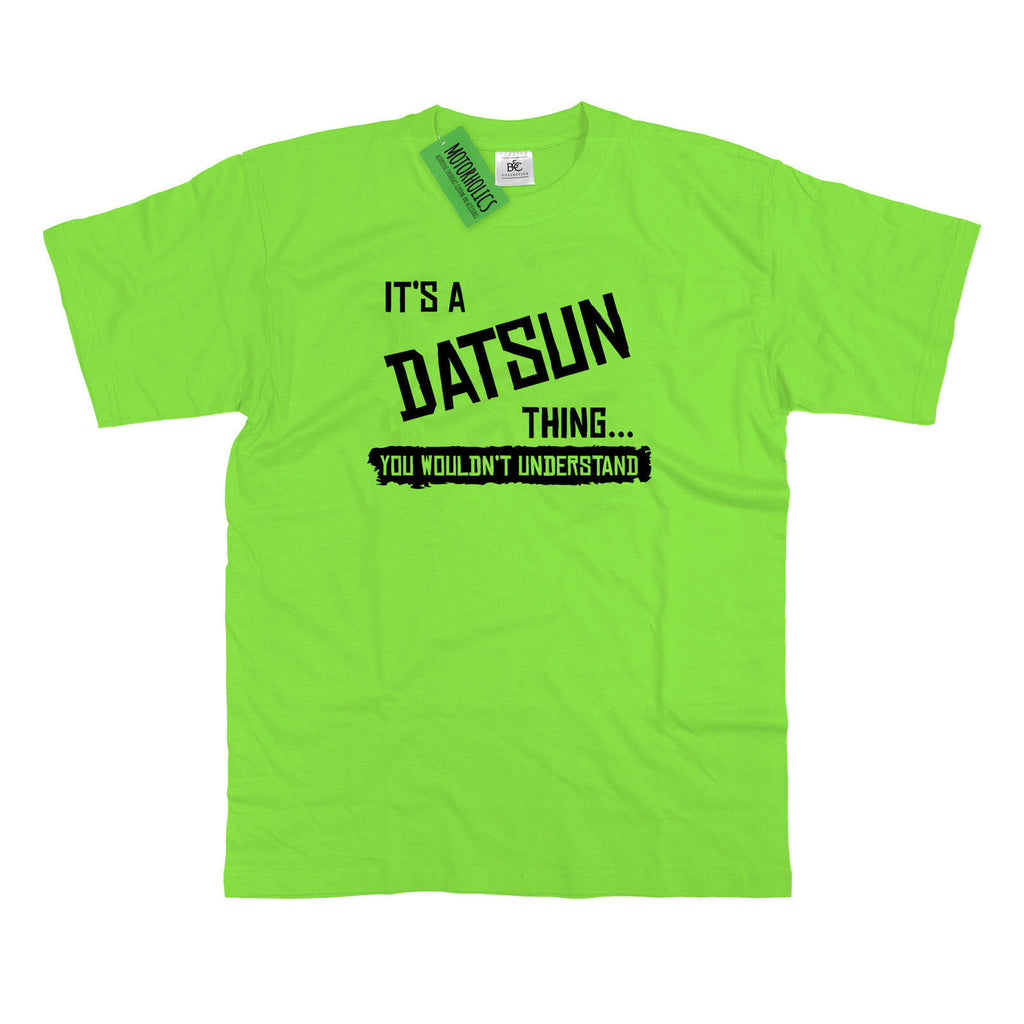 Mens It's a Datsun thing… you wouldn't understand T Shirt Classic Retro