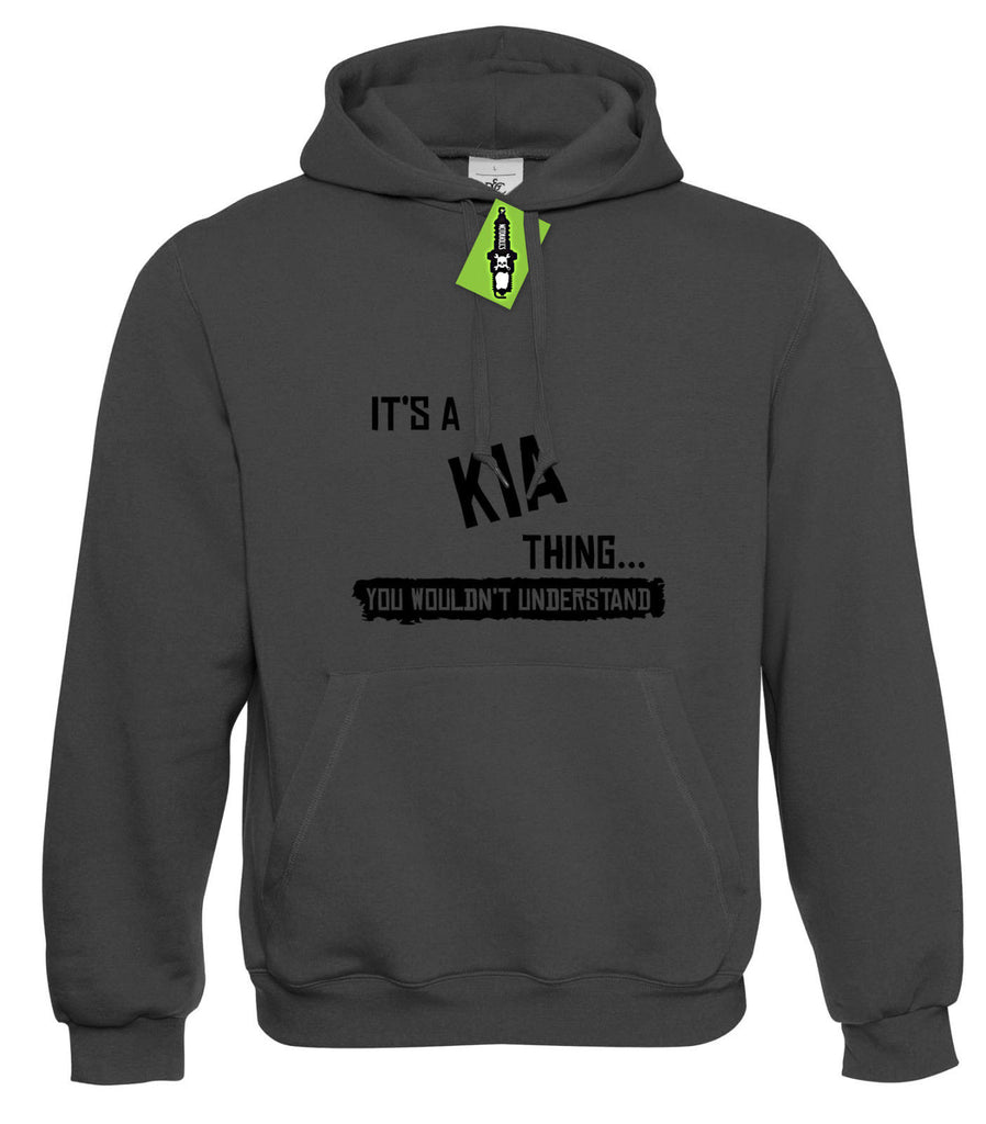 Mens It's a KIA thing... you wouldn't understand Hoodie Hoody S - 4XL