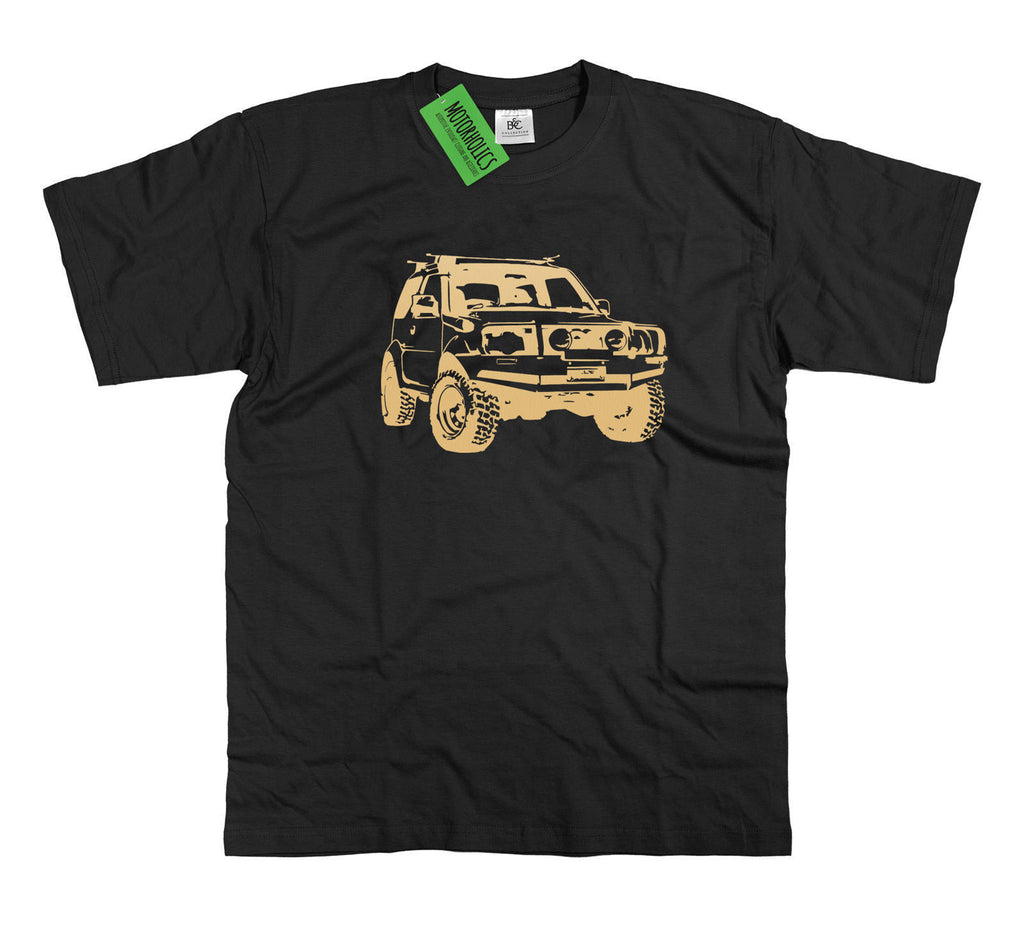 SUZUKI JIMNY VITARA MODIFIED BLACK MEDIUM T SHIRT