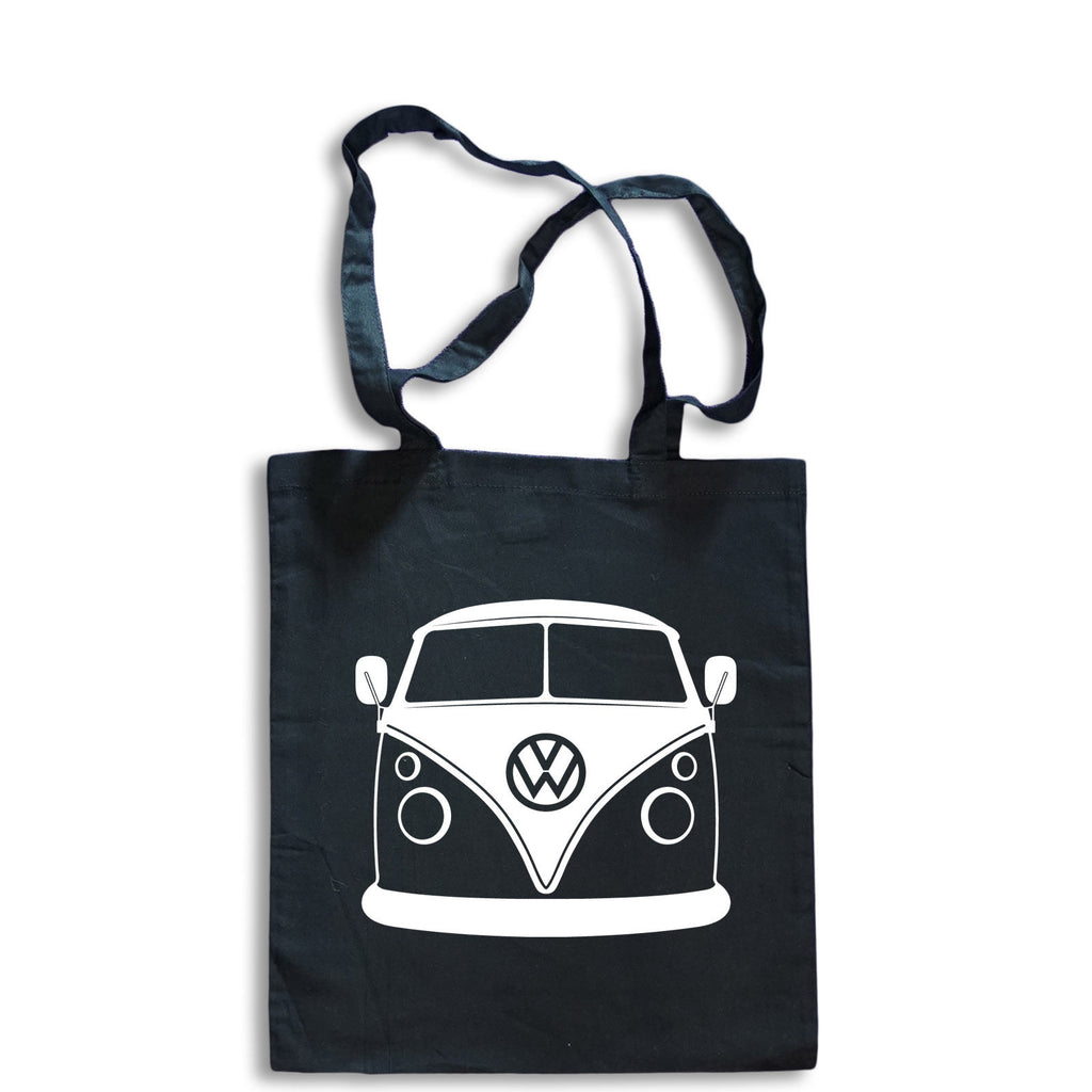 Sketch VOLKSWAGEN CAMPER VAN Tote Bag for Life Cotton Shopping Split Screen COOL