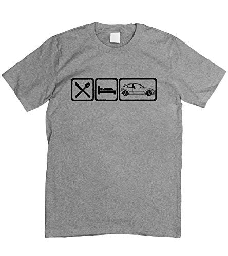 Motorholics Mens Eat Sleep Ford Focus T-Shirt S - 5XL
