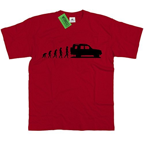 Motorholics Evolution of Land Rover Discovery T-Shirt S-5XL