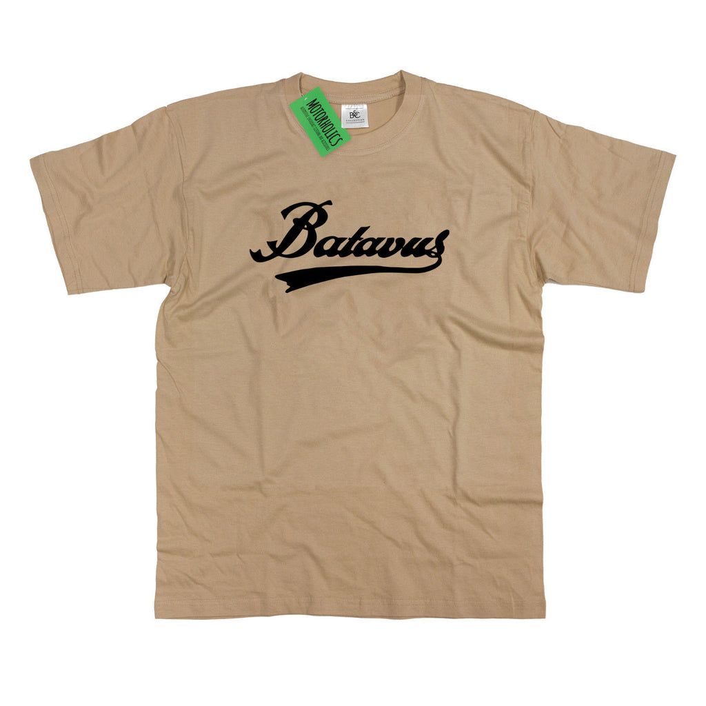 Batavus Logo T-Shirt Vintage Dutch Moped Motocycle S - 5XL