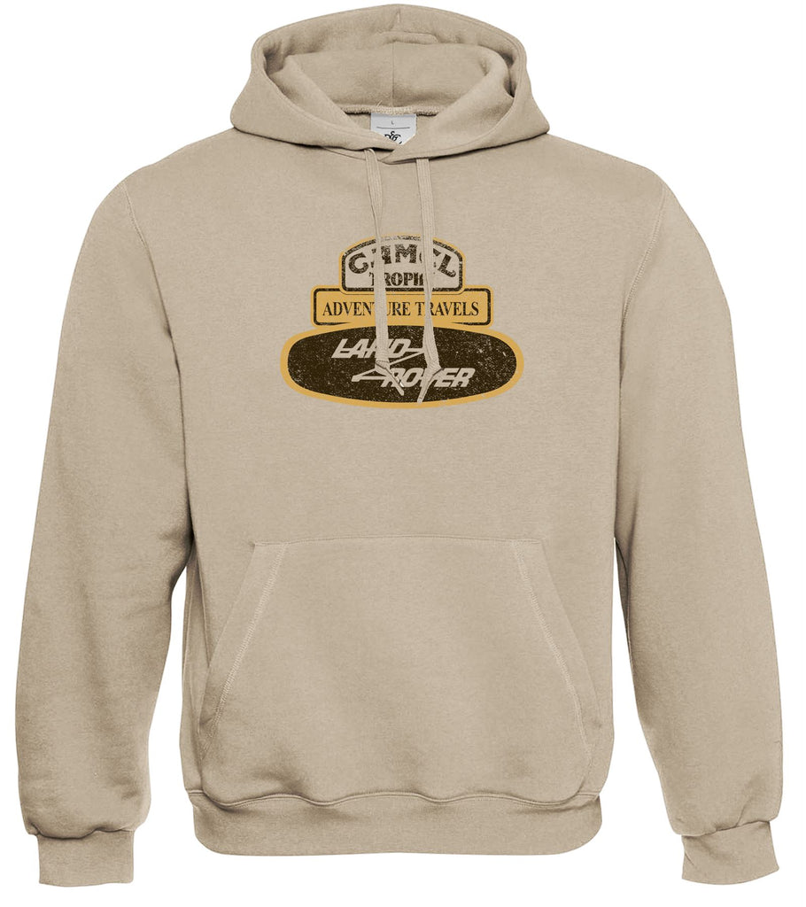 Camel Trophy Badge Land Rover Range Discovery Series Adventure Hoodie S - 2XL - Motorholics