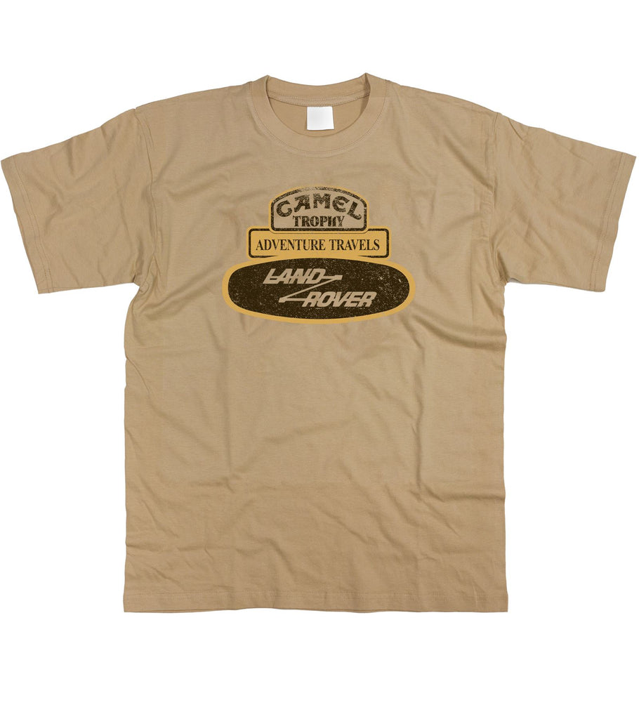 Camel Trophy Badge Land Rover Range Discovery Series Adventure T-Shirt S - 2XL - Motorholics