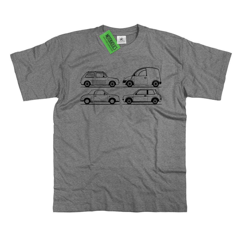Mens Original Sketch Nissan Pike Cars T-Shirt S - 5XL Figaro BE-1 S-Cargo Pao