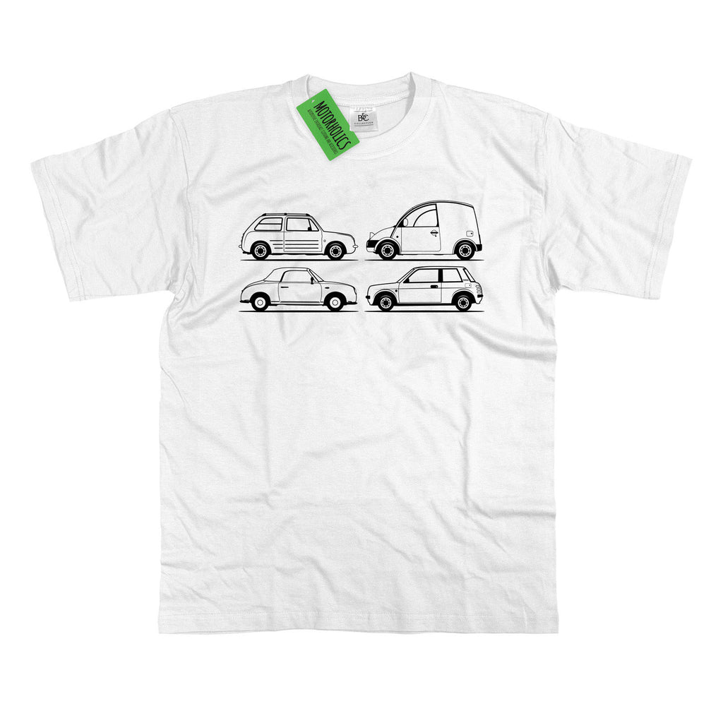 Men's Original Sketch Nissan Pike Cars T-Shirt S - 5XL Figaro BE-1 S-Cargo Pao
