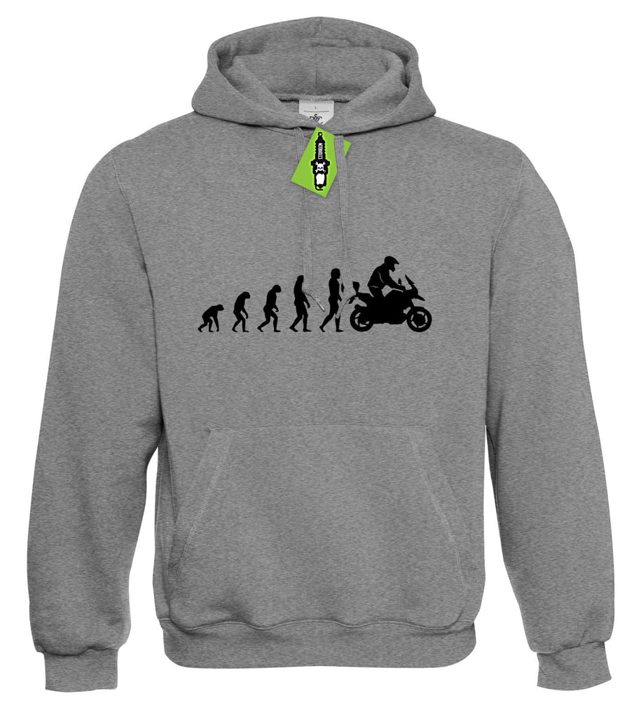 Mens Evolution to BMW R1200GS ADVENTURE Hoodie Hoody S - 4XL 1200 GS