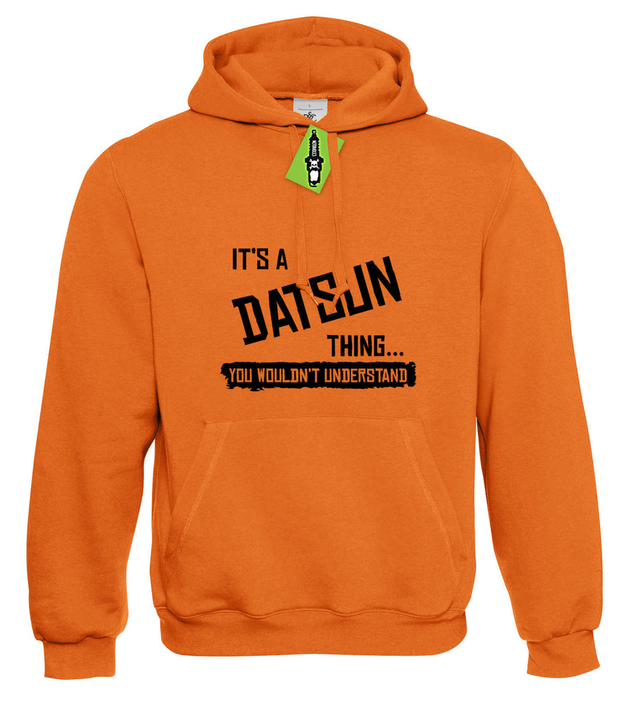 Mens It's a DATSUN thing... you wouldn't understand Hoodie Hoody S - 4XL