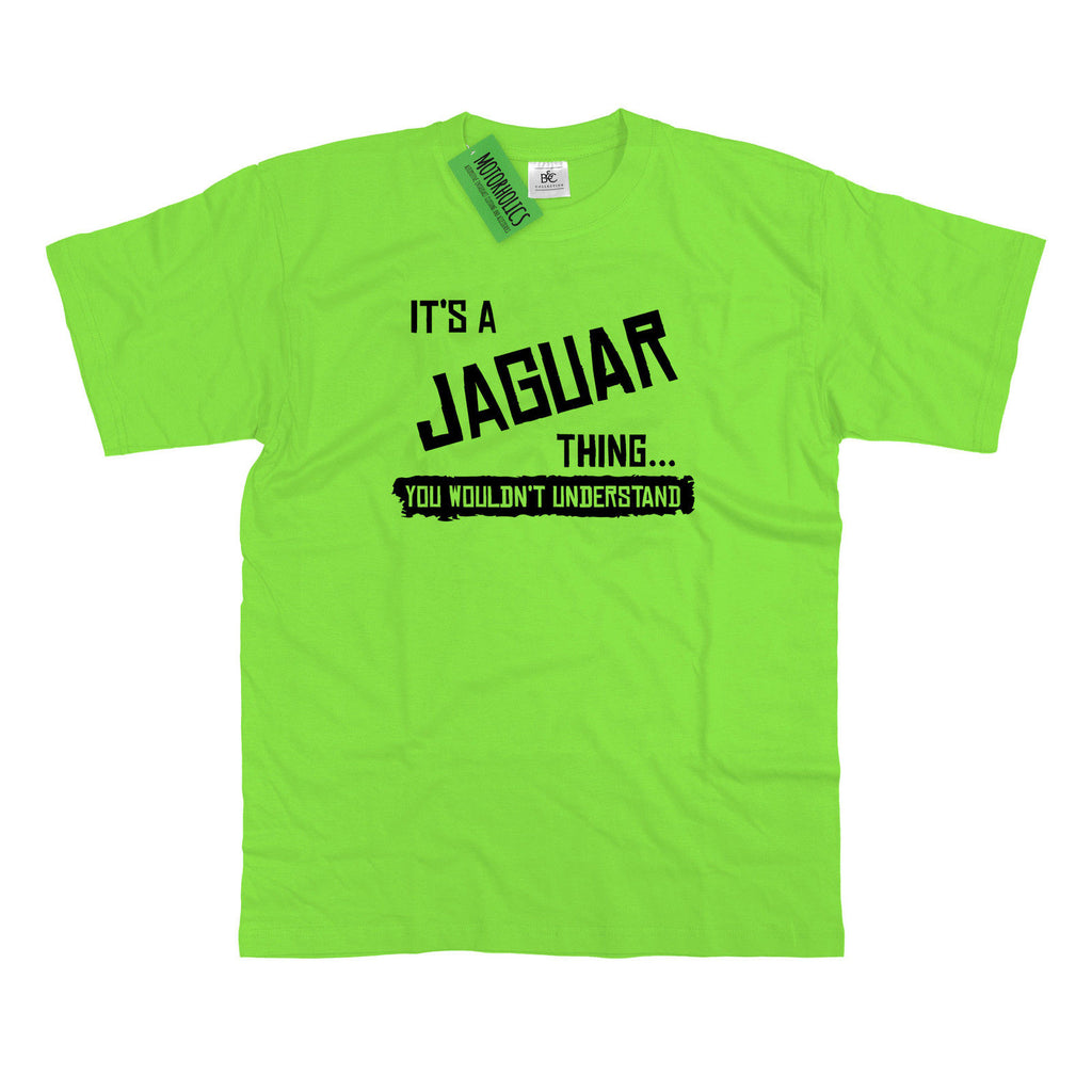 Mens It's a Jaguar thing... you wouldn't understand T Shirt Classic Retro