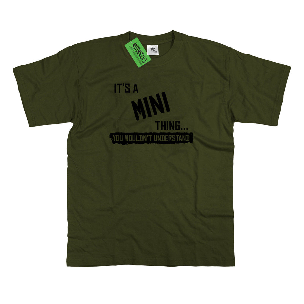 Mens It's a Mini thing... you wouldn't understand T Shirt Classic Retro Cooper S