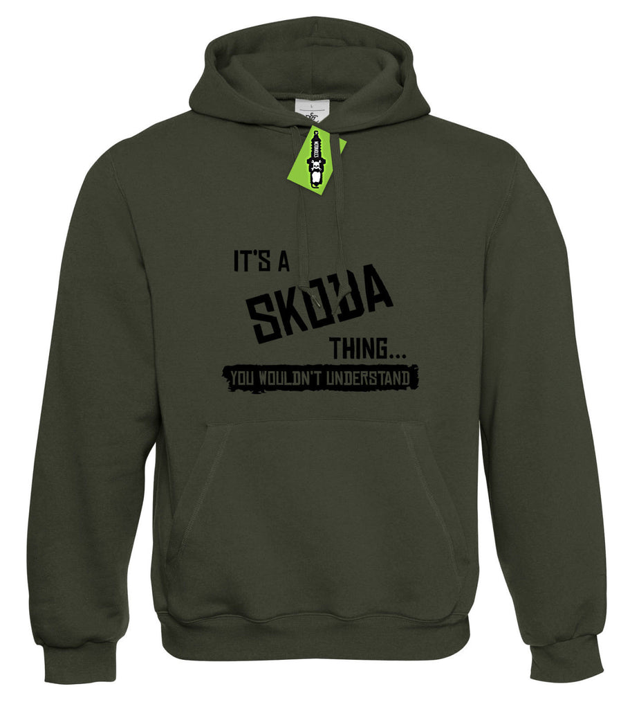 Mens It's a SKODA thing... you wouldn't understand Hoodie Hoody S - 4XL