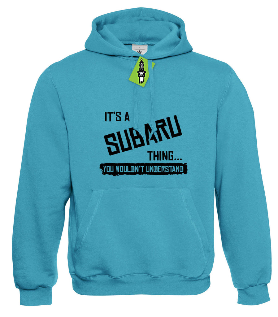 Mens It's a SUBARU thing... you wouldn't understand Hoodie Hoody S - 4XL