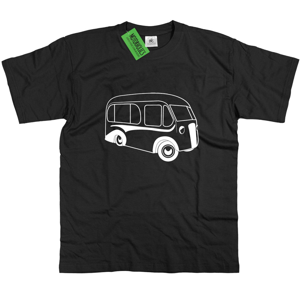 Mens Morris Commercial Ice Cream Van T-Shirt Retro Vintage Ices
