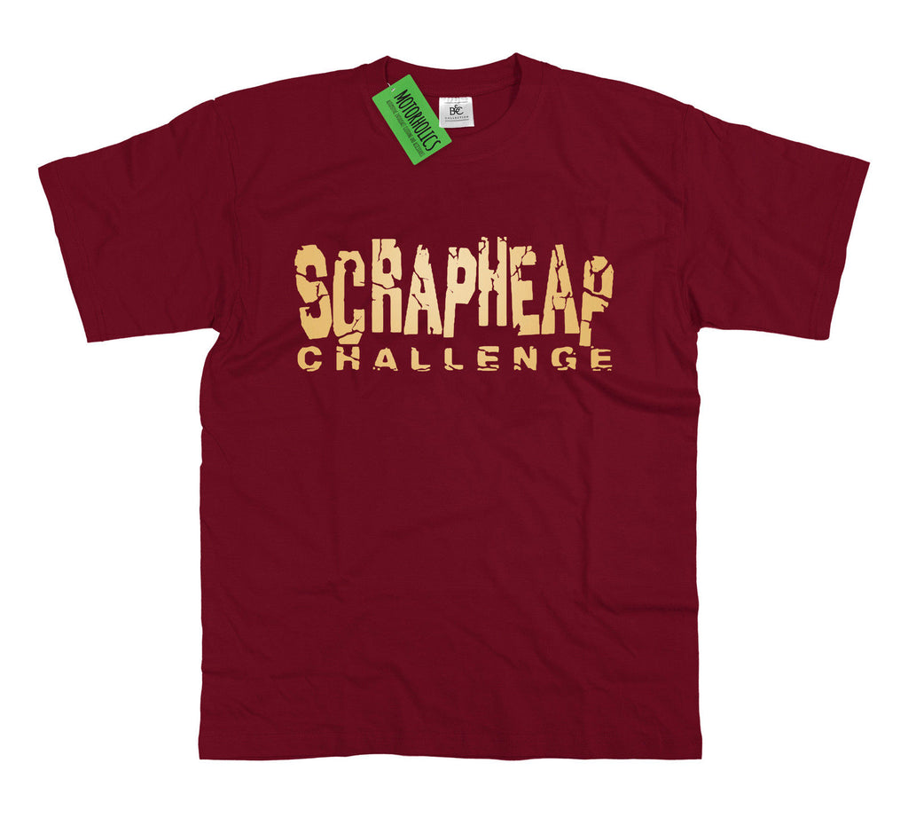Mens Scrapheap Challenge T Shirt Engineering Mechanic Fitter Scrappy Racers