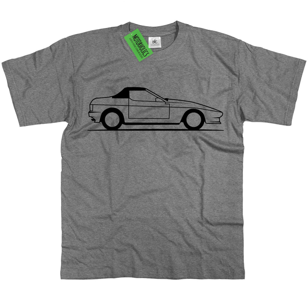 Mens TVR 350i T Shirt - Classic British Wedge V8 Tasmin