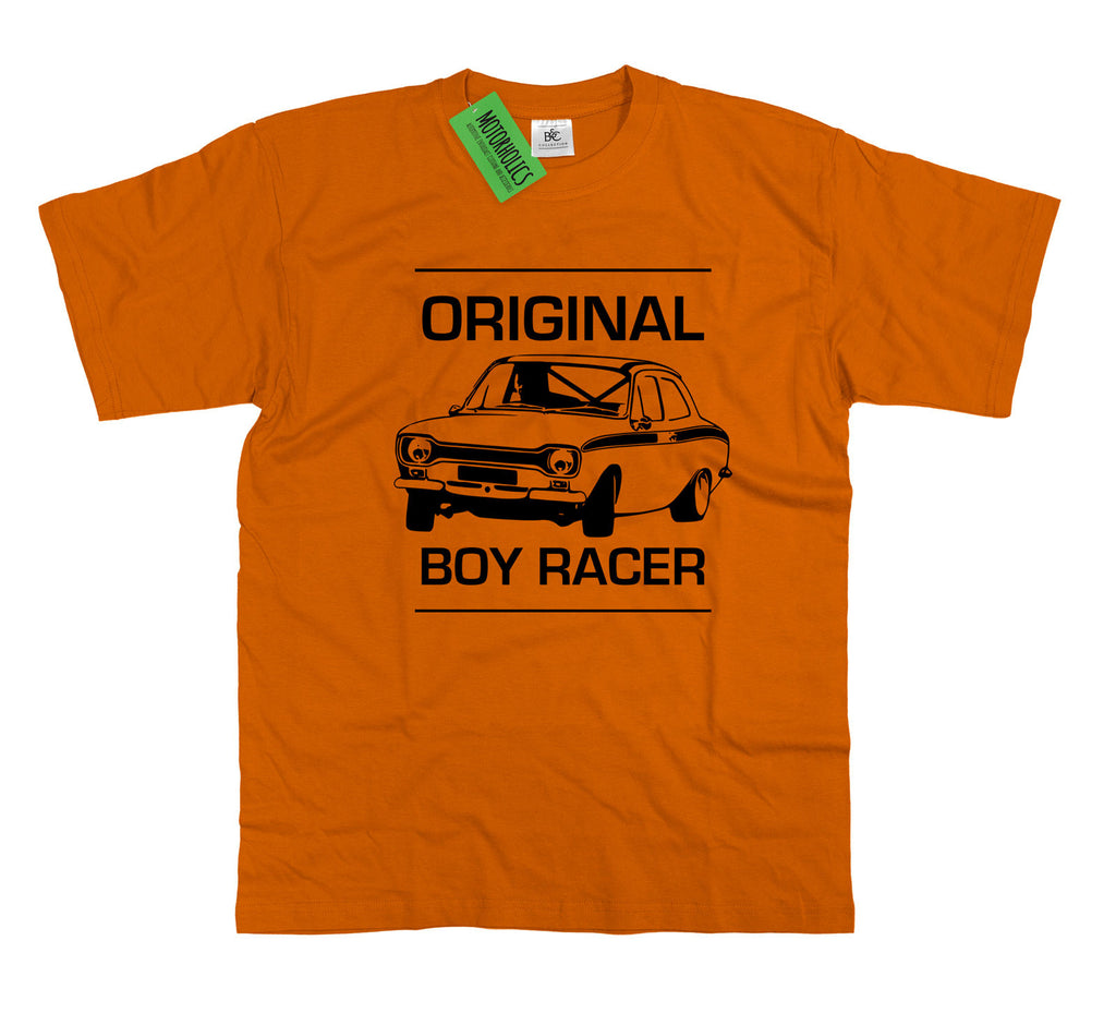 Mk1 Escort T Shirt Original Boy Racer Classic Ford Retro Rally Car Gift