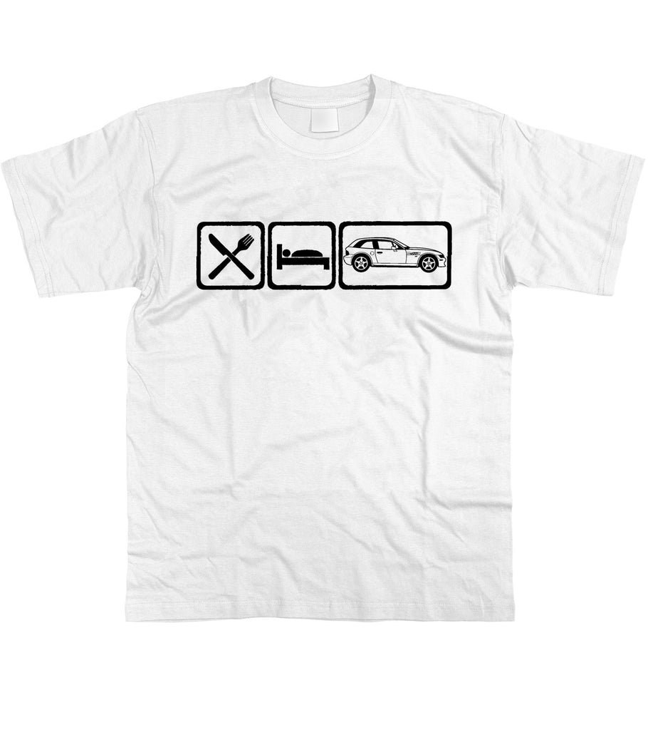 Motorholics Mens Eat Sleep BMW Z3 Coupe T-Shirt S - 5XL