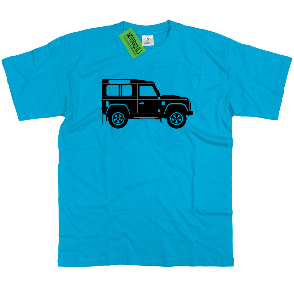 Original Sketch Land Rover Defender 90 Classic British 4X4 T Shirt