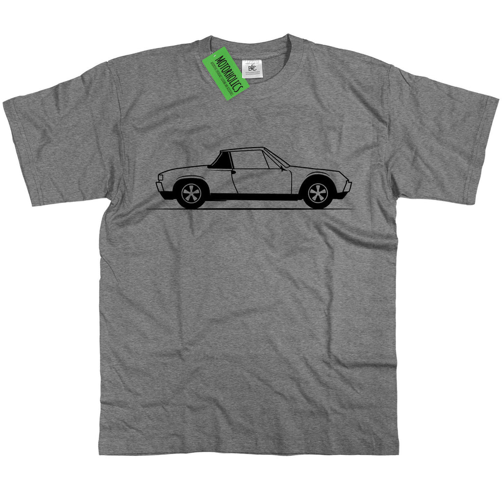 Original Sketch Porsche 914 Sports Car T Shirt