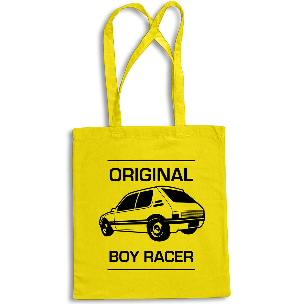 PEUGEOT 205 Tote Bag for Life Cotton Shopping Retro Original Boy Racer Rally