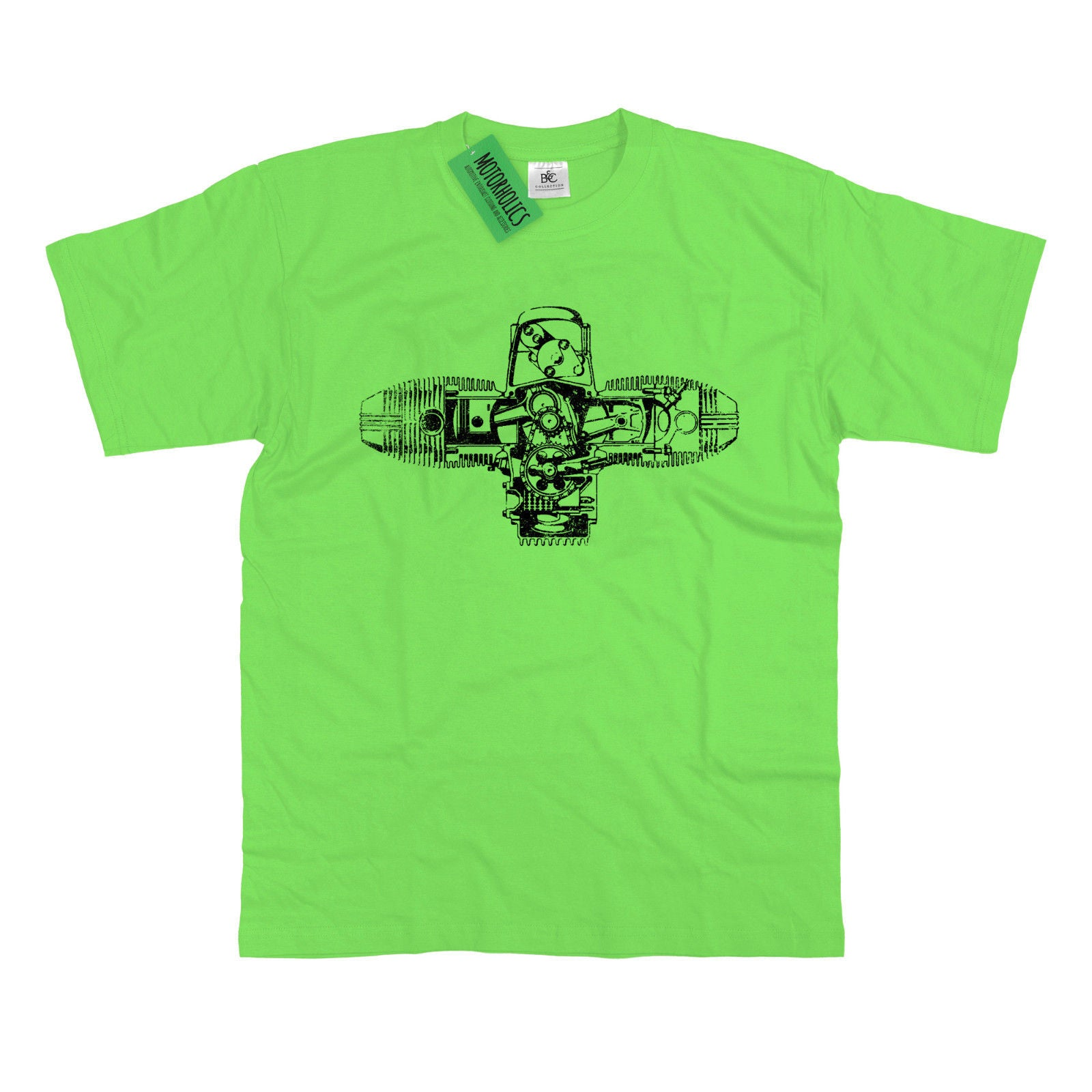 R Series Boxer Engine Diagram Retro 70s Cafe Racer T Shirt S 5xl R1200  U2013 Motorholics