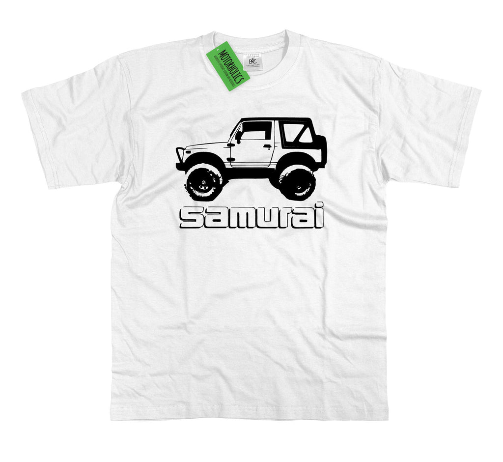 SUZUKI SAMURAI MODIFIED TDI 4x4 OFF ROAD VEHICLE T SHIRT SIZE S-2XL SAMAURI
