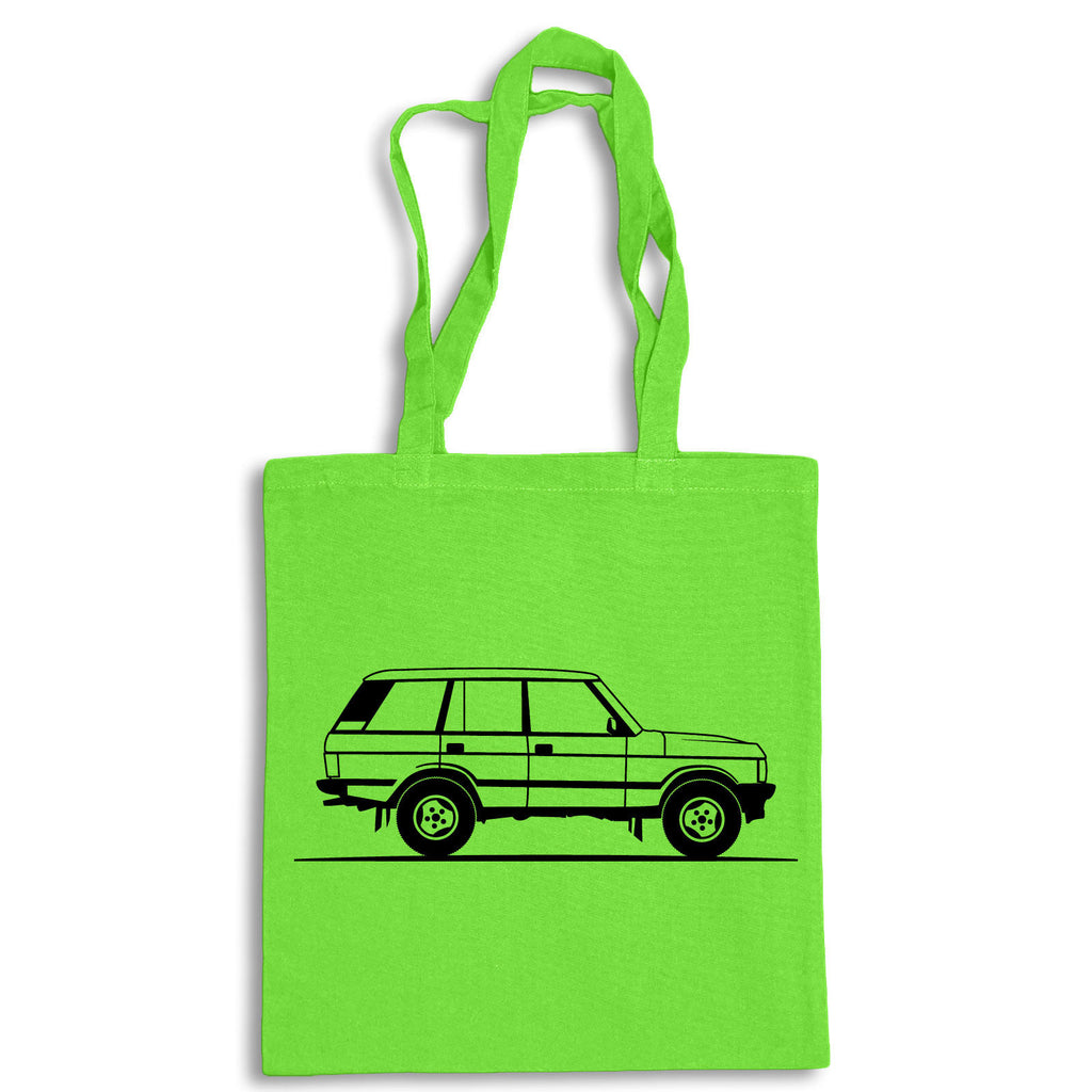 Sketch RANGE ROVER CLASSIC Tote Bag for Life Cotton Shopping Land Rover 4x4 Mud