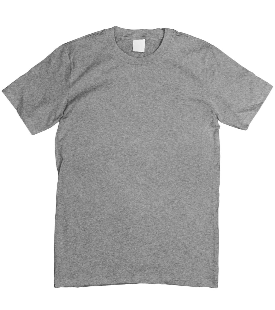 Motorholics Mens Blank Unprinted Plain T-Shirt S - 5XL